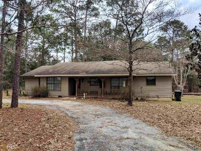 Statesboro Single Family Home New: 6348 Clito Rd