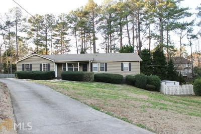 Acworth Single Family Home Under Contract: 4188 Holly Ct E