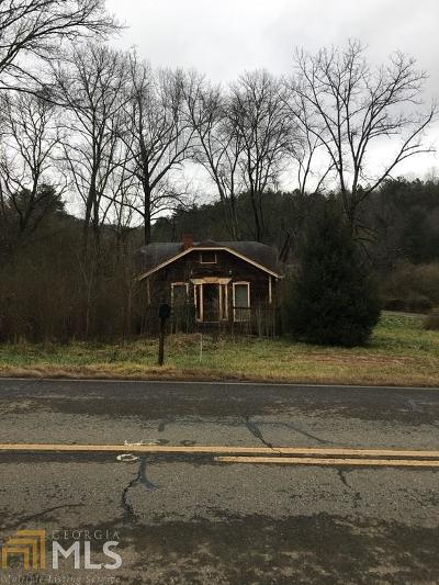 Gilmer County Single Family Home New: 4850 Chatsworth Hwy