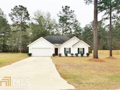 Statesboro Single Family Home New: 115 Stonebrook Way