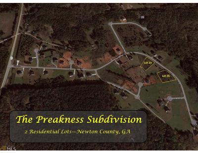 Covington Residential Lots & Land New: 230 Barcelona Dr #25