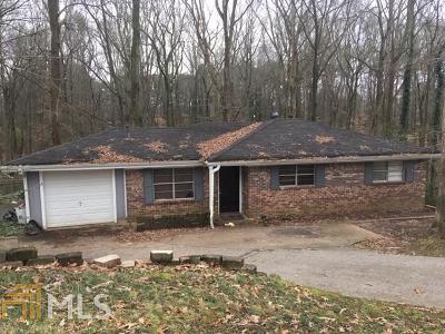 Douglas County Single Family Home Under Contract: 3994 Creel