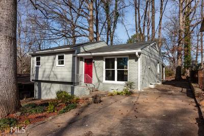 Hapeville Single Family Home For Sale: 405 Dorsey Rd