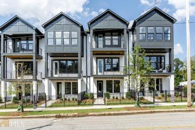 Atlanta Condo/Townhouse New: 1716 Edgehill Mnr #19