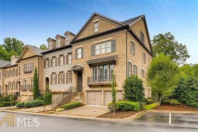 Alpharetta Condo/Townhouse For Sale: 128 Nottaway Ln