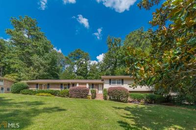 Vinings Single Family Home Under Contract: 4154 SE Brookview Dr