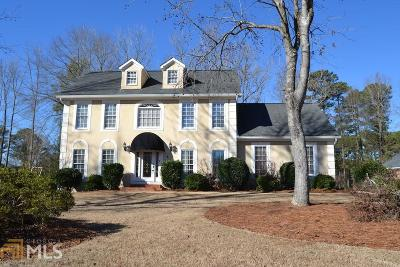 Newnan Single Family Home Under Contract: 8 The Meadows Dr