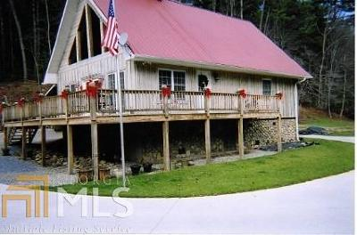 Blairsville Single Family Home Under Contract: 9228 Gainsville Highway