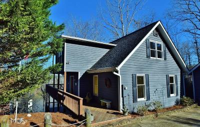 Dawsonville Single Family Home Back On Market: 48 Chestatee Vw Pl