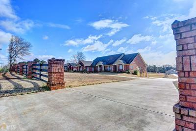 Dacula Single Family Home New: 3529 Indian Shoals Rd