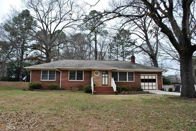 Butts County Single Family Home New: 1169 Nelson St