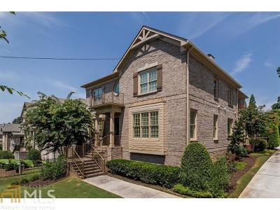 Roswell, Sandy Springs Single Family Home For Sale: 126 W Belle Isle