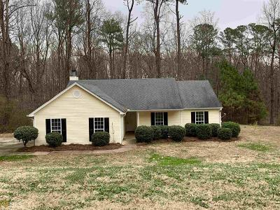 Winder Single Family Home Under Contract: 859 Ode Peppers #lot 5