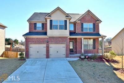 Loganville Single Family Home New: 580 Stonebranch Dr
