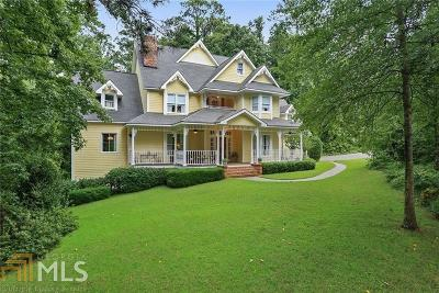 Alpharetta Single Family Home New: 5390 Skidaway Dr