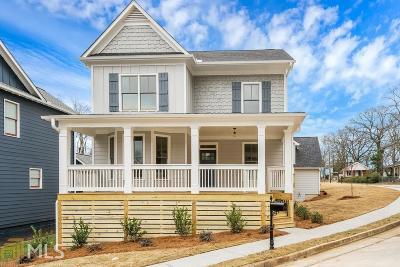 Atlanta Single Family Home New: 1389 SE Marion St