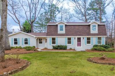 Roswell Single Family Home New: 460 Houze Way