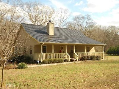 Banks County Single Family Home Under Contract: 642 Emory Chambers Rd