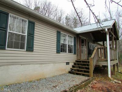 Ellijay Single Family Home Under Contract: 341 Old Woodring Rd