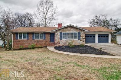 Cartersville Single Family Home Under Contract: 100 Allison Cir