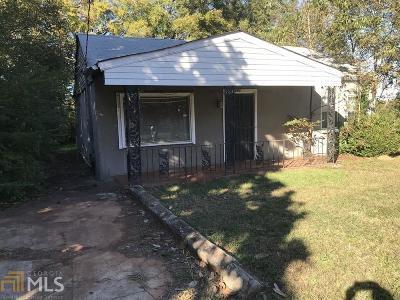 Atlanta Single Family Home New: 281 Upshaw Street SW