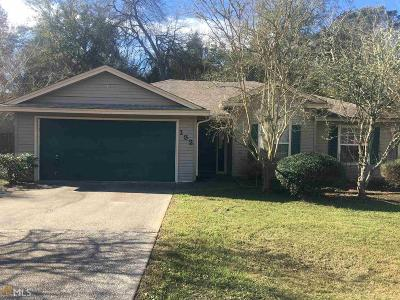 Kingsland GA Single Family Home Under Contract: $137,900
