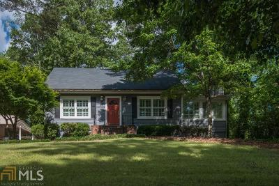 Chamblee Single Family Home For Sale: 3102 Parkridge Crescent