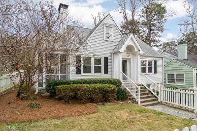 Atlanta Single Family Home New: 236 Eureka Dr