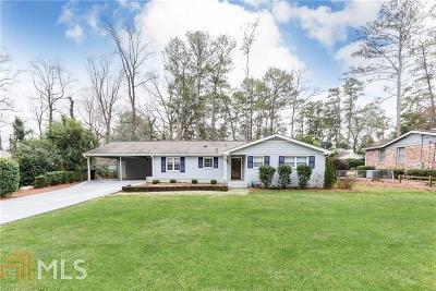 Atlanta Single Family Home New: 489 Carolwood Ln