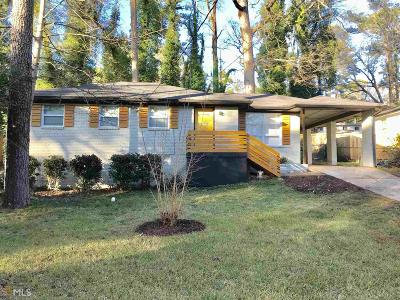 Decatur Single Family Home New: 2992 Pasadena Drive #1