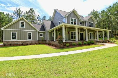 Statesboro Single Family Home New: 2955 Pulaski Rd