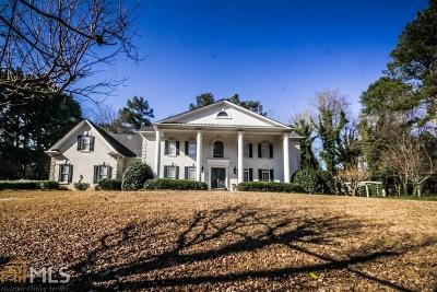 Roswell Single Family Home Under Contract: 605 Winnmark Dr