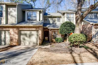 Alpharetta Condo/Townhouse Under Contract: 503 Mansard Walk