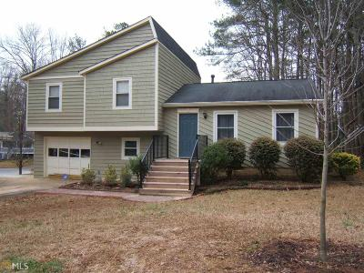 Powder Springs Single Family Home New: 3700 Ashley Woods Dr