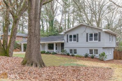 Atlanta Single Family Home New: 2585 Raintree Dr