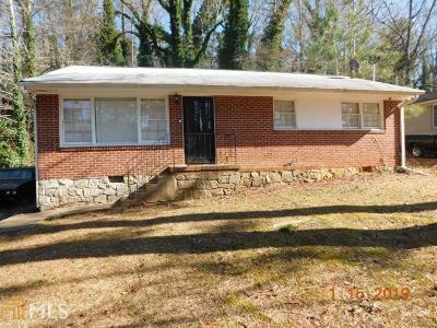 Atlanta Single Family Home New: 1970 Wells Dr