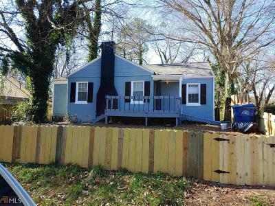 Atlanta Single Family Home New: 1391 Lorenzo Drive