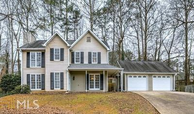 Roswell Single Family Home Under Contract: 4245 Glenforest Way