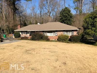 Decatur Single Family Home New: 2130 Sylvania Dr