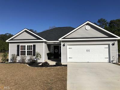 Statesboro Single Family Home New: 403 Stillwater Ct