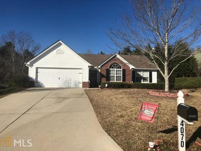 Hall County Single Family Home New: 4070 Deerlope Ct