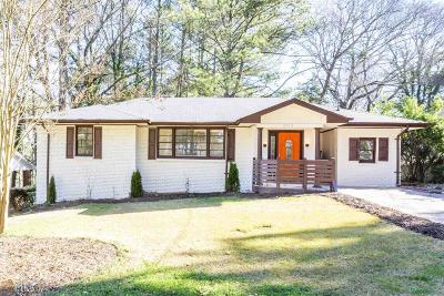 Atlanta Single Family Home New: 2152 Maxwell Drive