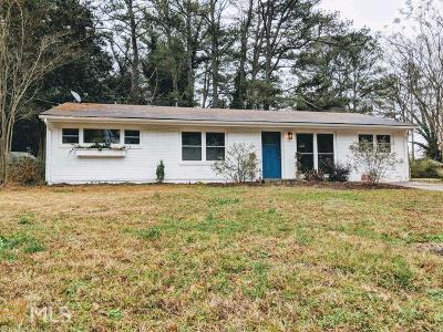 Decatur Single Family Home New: 1548 Peachcrest Rd