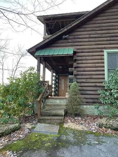 Rabun County Single Family Home For Sale: 130 Eagles Nest #4