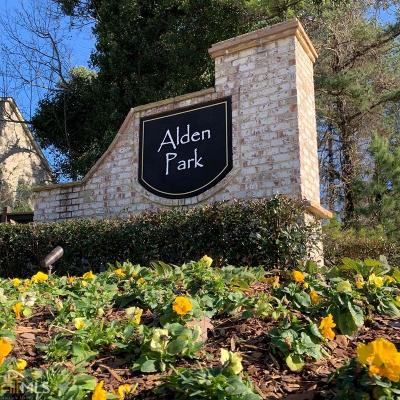 Decatur Condo/Townhouse New: 4285 Alden Park Dr