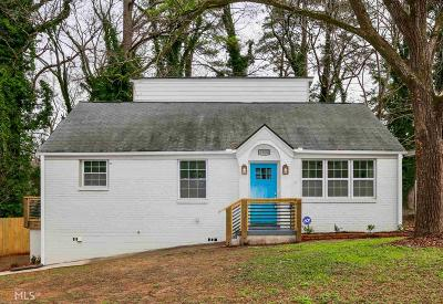Decatur Single Family Home New: 2074 Dellwood Pl
