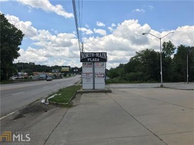Jonesboro Commercial For Sale: 7718 N Main St