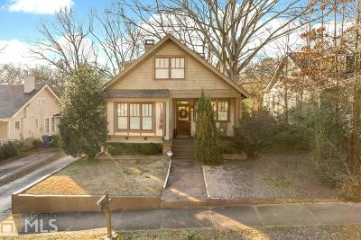 Atlanta Single Family Home New: 135 Palatka St
