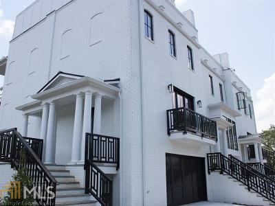 Condo/Townhouse For Sale: 3667 Peachtree Rd #3