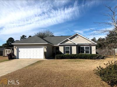 Statesboro Single Family Home New: 409 Hartley Dr